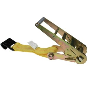 "image of 3"" ratchet replacement strap with flat hook"