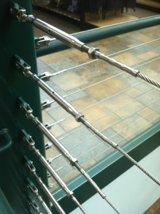image of cable railing system rails
