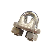 image of galvanized wire rope clip