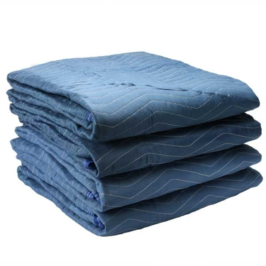 Blue Moving Blankets