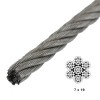 image of 7x19 wire rope