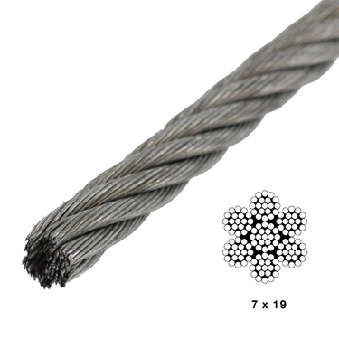 7×19 Wire Rope