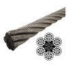 image of galvanized wire rope