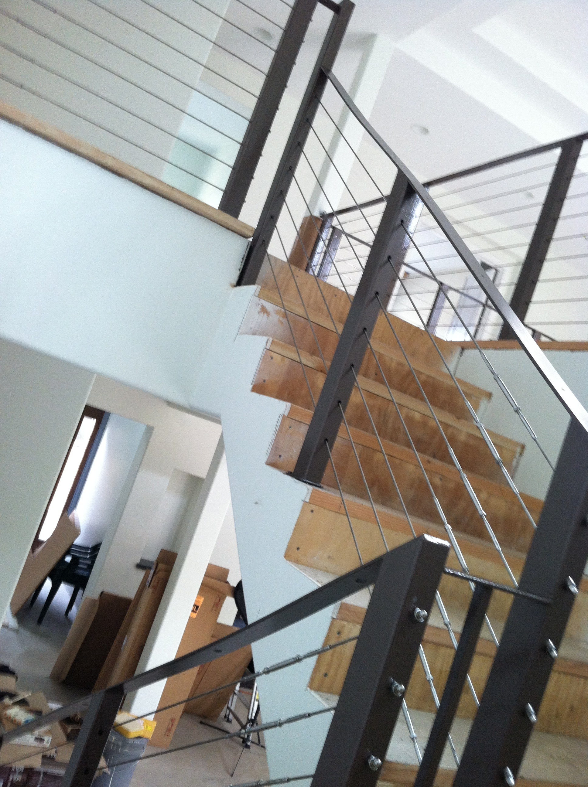image 1 of stainless steel cable railing