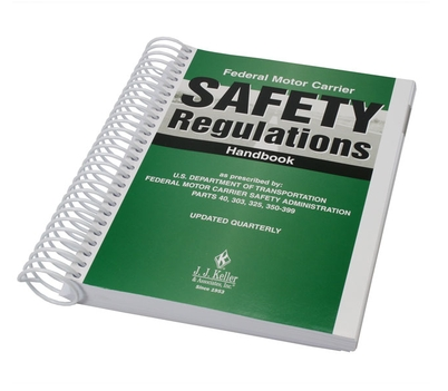 image of truck driver safety handbook