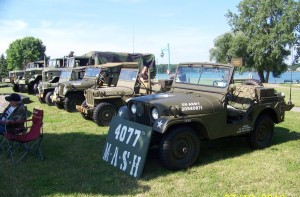 1953 Dodge M37 weapons carrier.