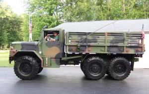 1967 M35A3, rebuilt in 1997