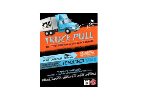 US Cargo Control Donates Supplies for Move For Hunger's First Annual Truck Pull