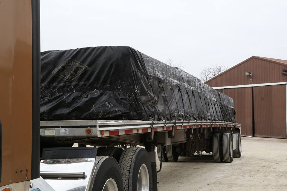 How to Clean a Truck Tarp