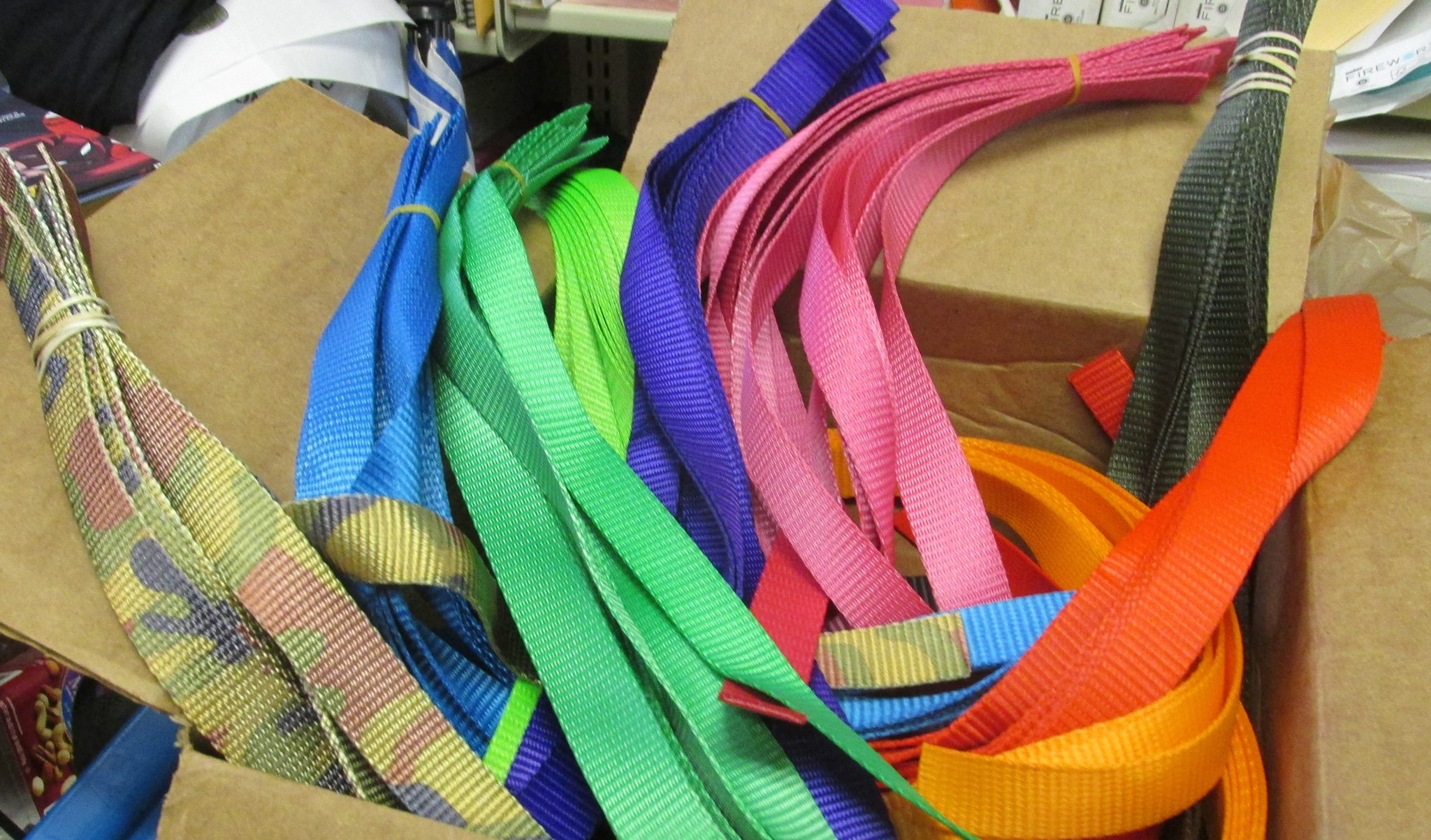 US Cargo Control Webbing Donated to Children's Library Program