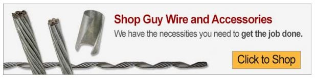 Guy wire products from US Cargo Control