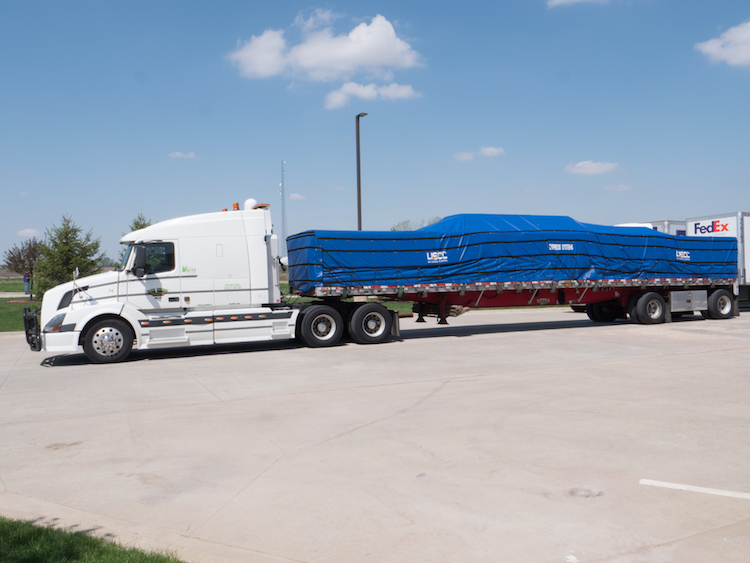 using a tarp on flatbed
