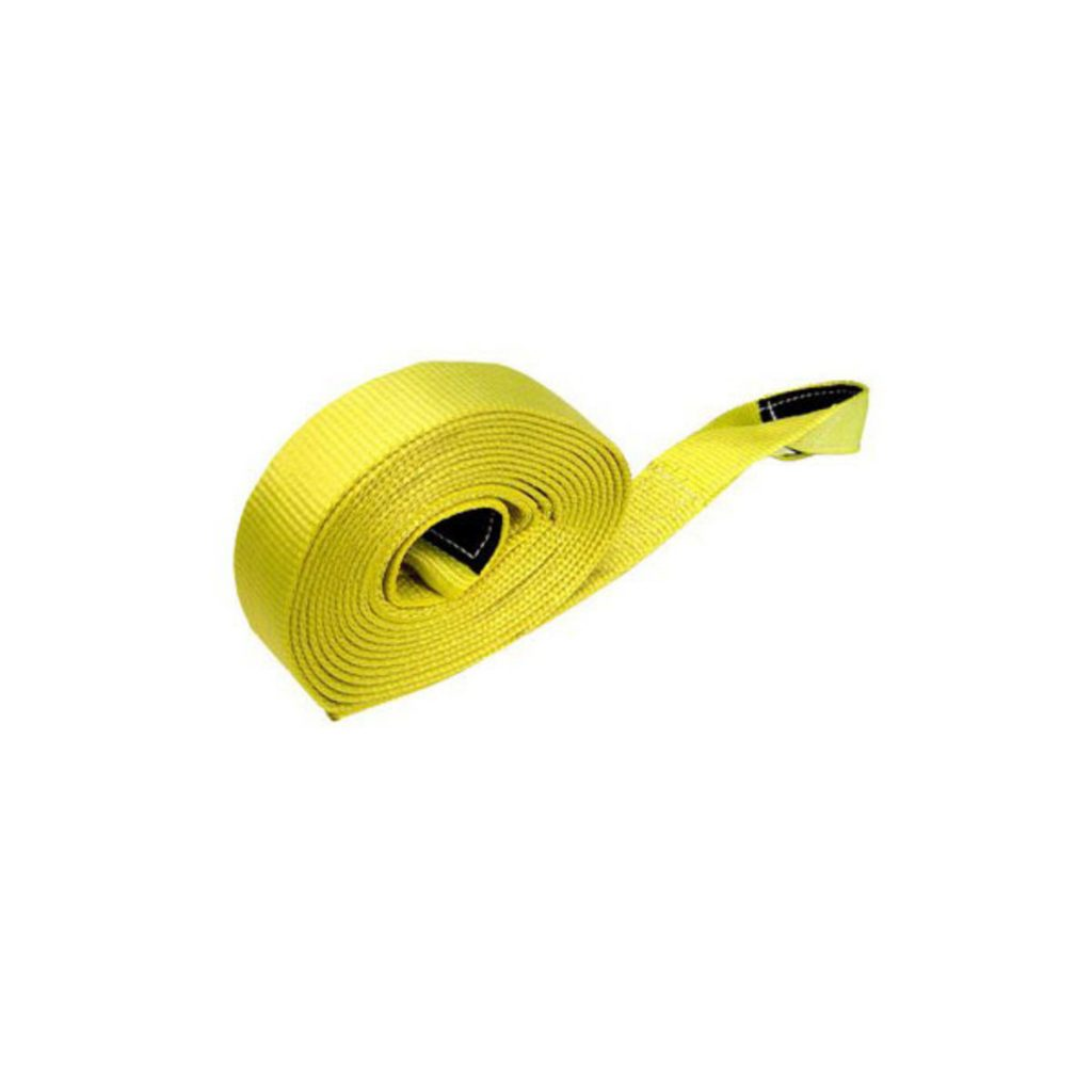 2 inch recovery strap yellow