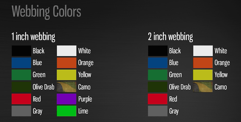 custom cargo net color options from USCC