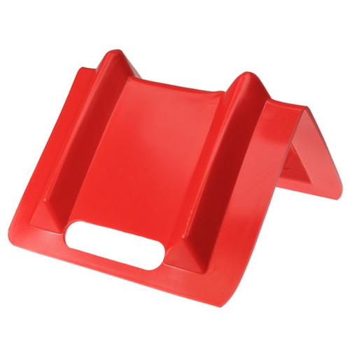 red plastic corner protector for ratchet straps