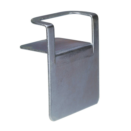 "steel flatbed corner protector with 3"" slot"