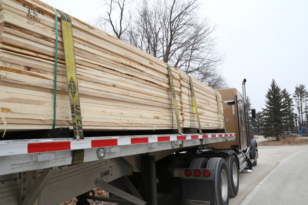 cargo securement on flatbed truck for 2019 CVSA roadcheck
