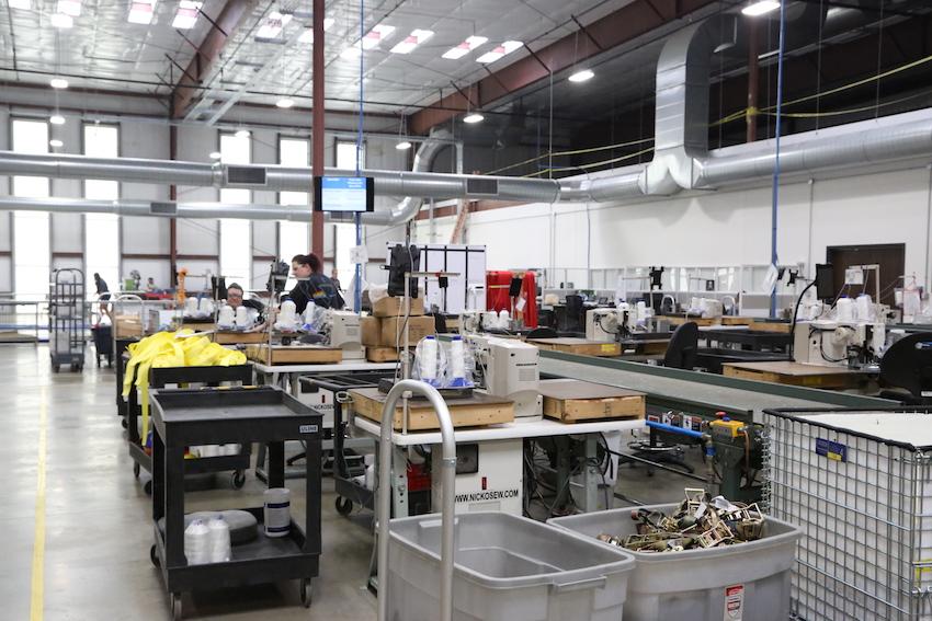 US Cargo Control manufacturing floor