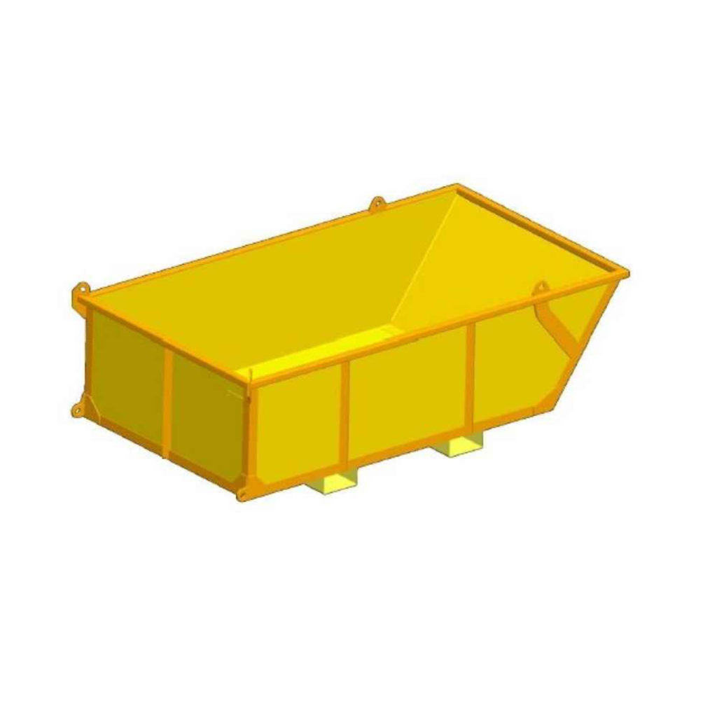 lugger basket for material