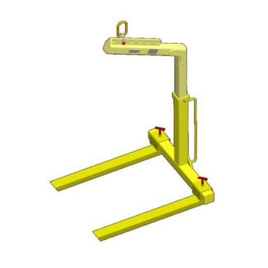 manual pallet lifting bar for crane or hoist