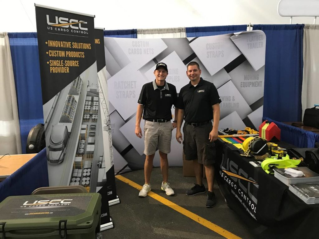 USCC team members at Trucks Jamboree, at the iowa 80 truck stop