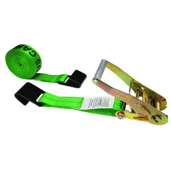 US Cargo Control sells green ratchet straps
