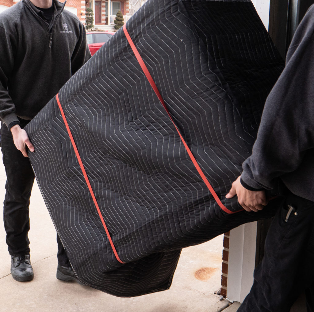 moving blanket that can be slipped as furniture covers to protect valuables for springtime cleaning