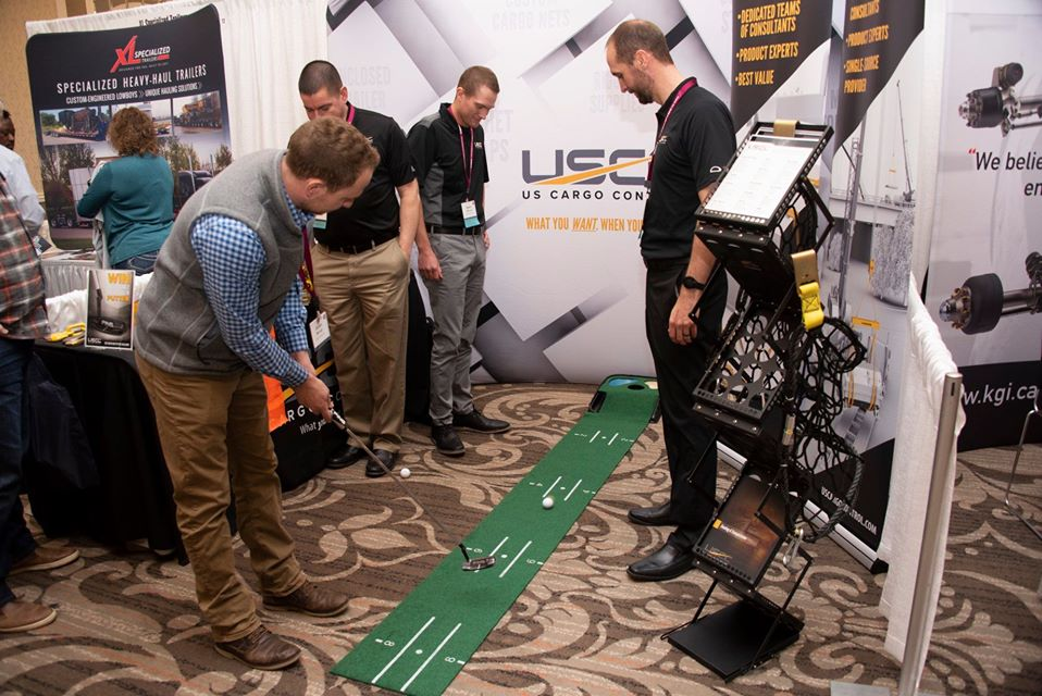 USCC tradeshow display