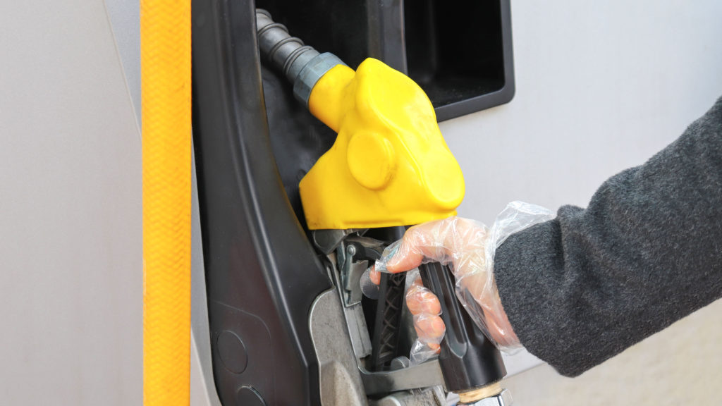Being cautious at gas stations is a way of staying safe on the road