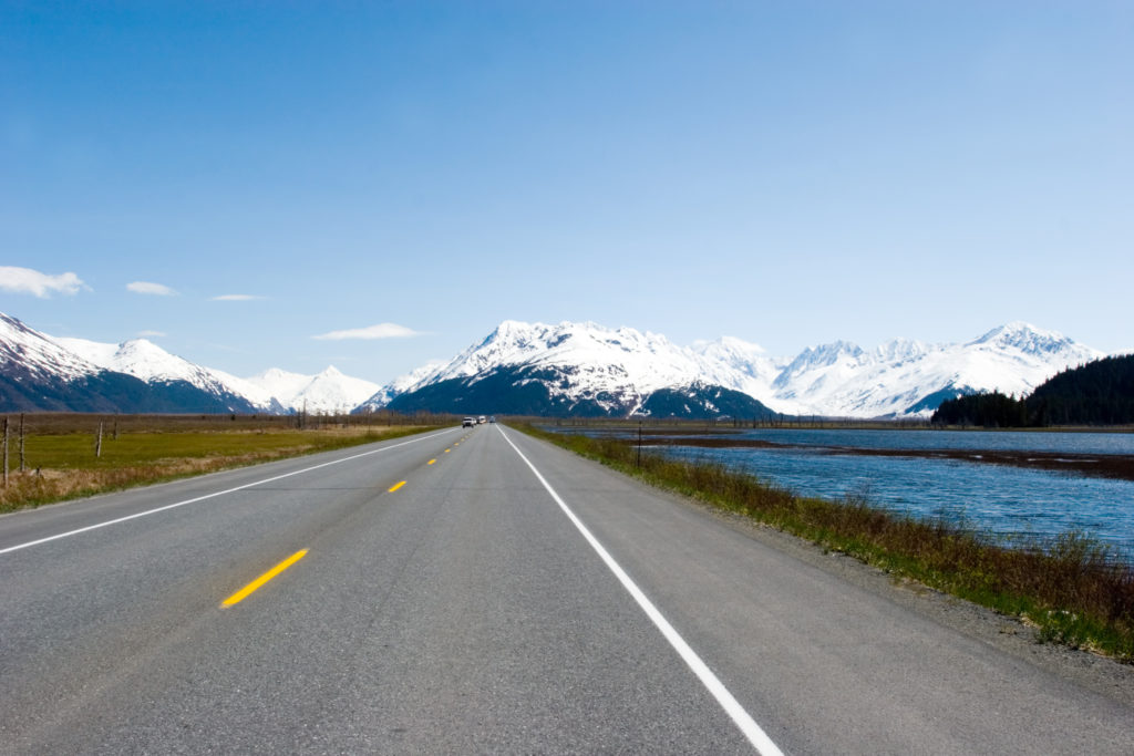 Seward Highway, one of most scenic drives in the world