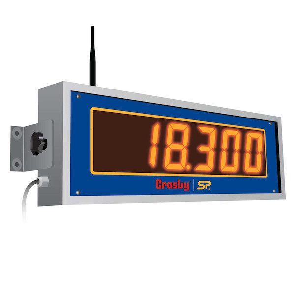 wireless LCD load cell scoreboard