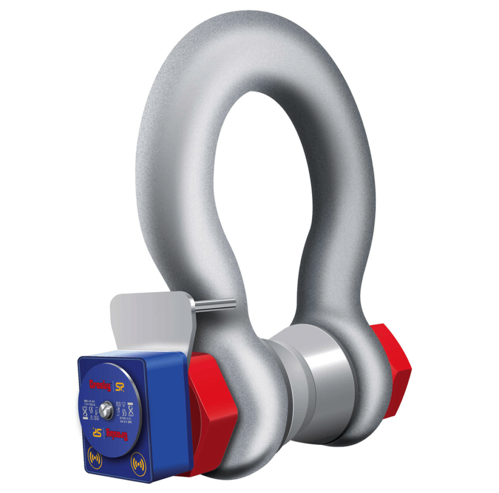 wireless load shackle from Straightpoint