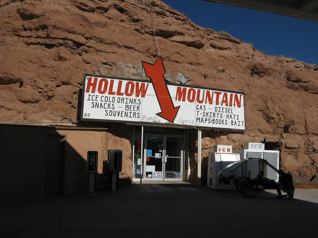 Hollow Mountain Gas Station