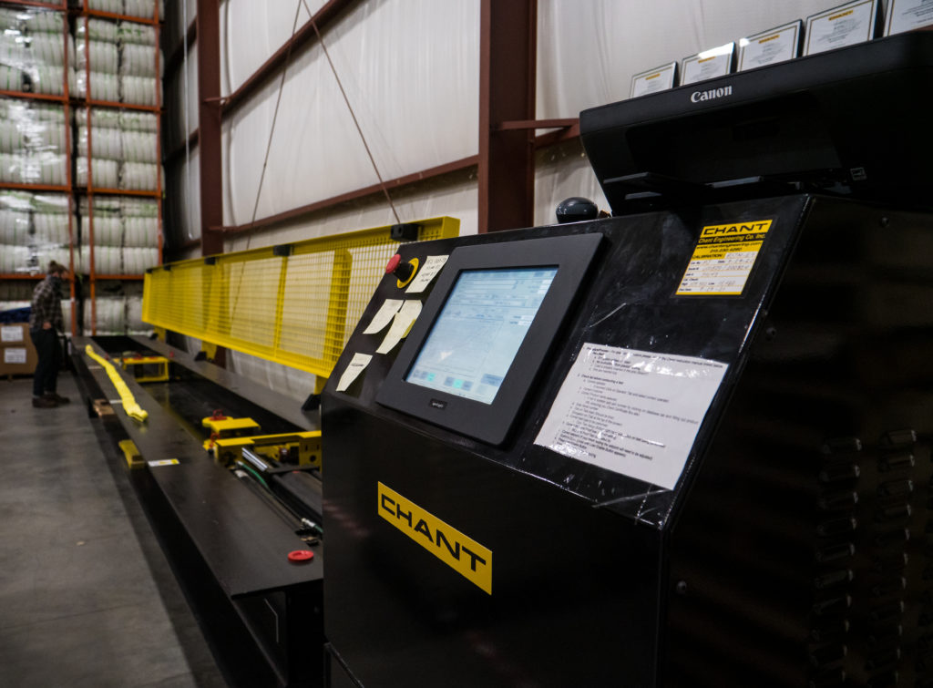 US Cargo Control using Chant Engineering's test bed for cargo products