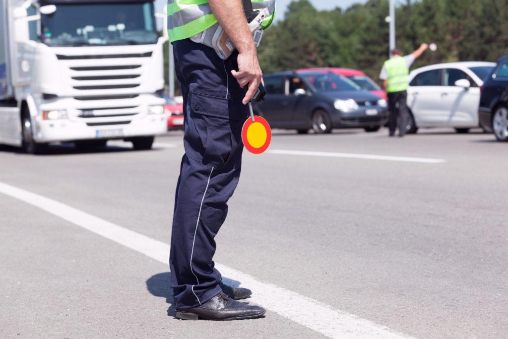 Law enforcement during operation safe driver week 2021
